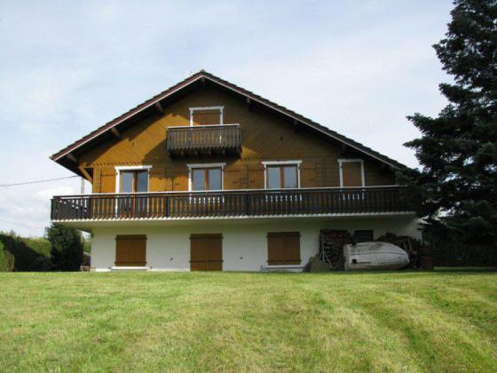 Authentique chalet au bord du Léman