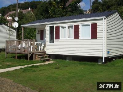 LOCATION MOBIL HOME 4-6 PERS CAMPING VILLEDIEU LES POELES
