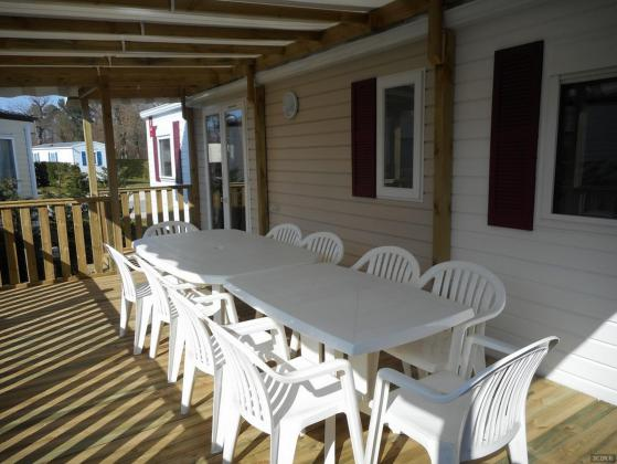 Mobil home 4 chambres (2/10 couchages) camping 4*Charmettes (funs pass offerts)