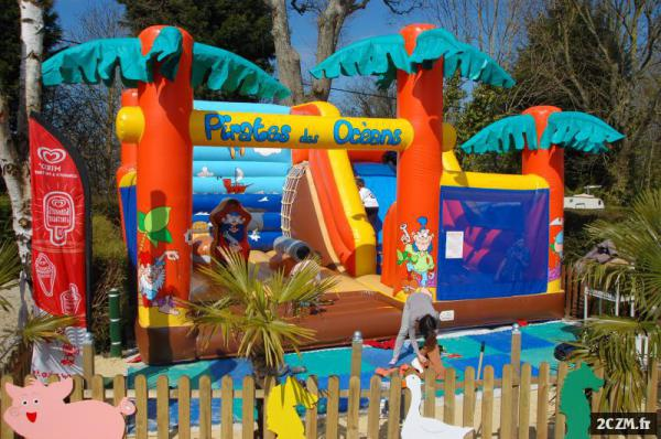 location mobile home camping normandie