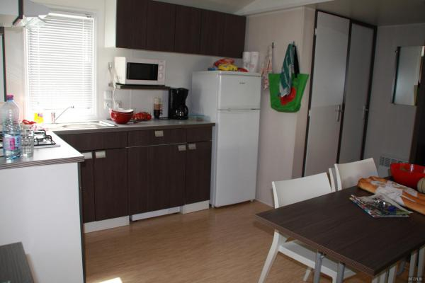 Location de mobil homes dans camping bord de mer