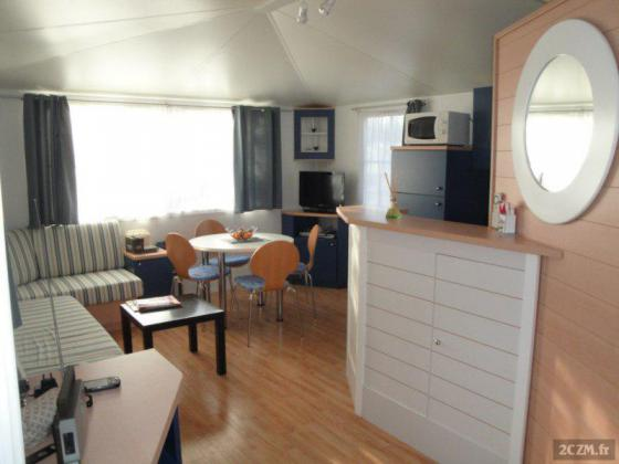 loue mobile home dans camping 5 *à Biscarrosse