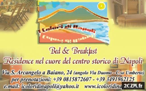 Maison Vacaza Bed et Breakfast Naples Italie