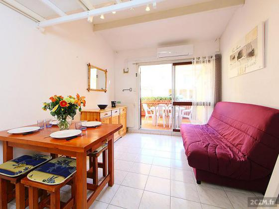 Le Cap D'agde appartement 2 pieces