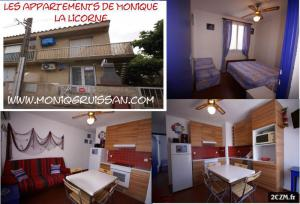 3 APPARTEMENTS CLIMATISE-WIFI- 2/6 Pers à GRUISSAN PLAGE