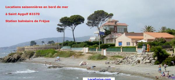 T2 4 pers 300m bord mer Parking Saint Aygulf 83370 VAR