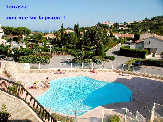F3 34m2 6 couchages Parking Piscine Les Issambres 83380 VAR