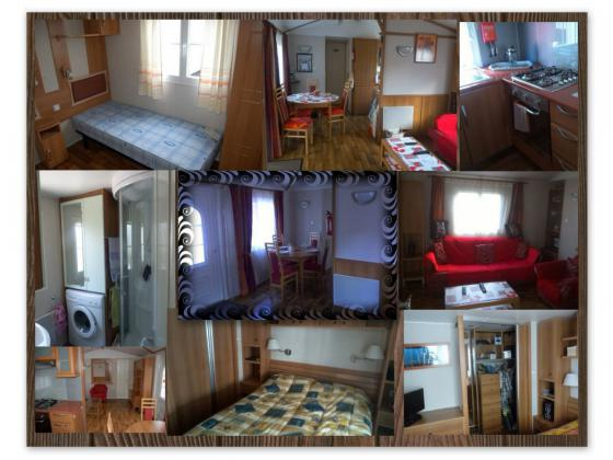 MOBIL-HOME CHARENTE MARITIME CAMPING 4 **** TOUT CONFORT