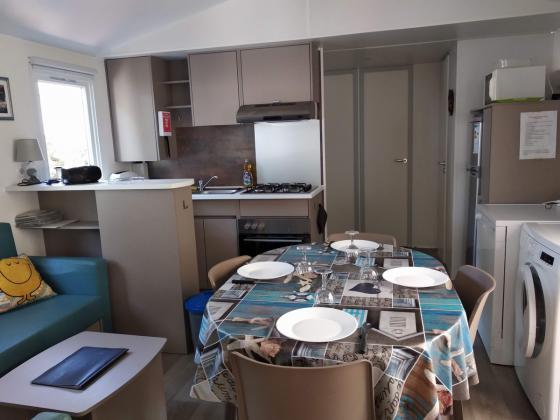 Mobil home 4 chambres (2/10 couchages), camping club 4* Bois Masson ( funs pass offerts)